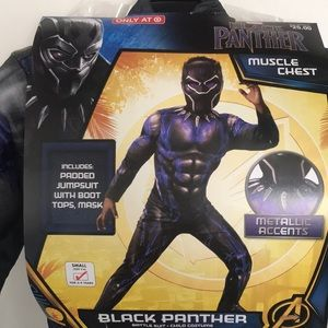 NEW! Black panther costume size small